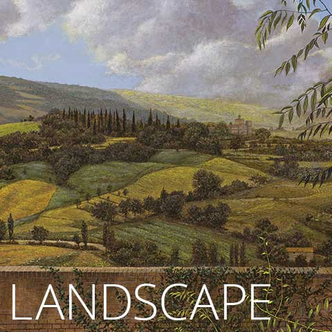 Walter Hatke Landscape Paintings